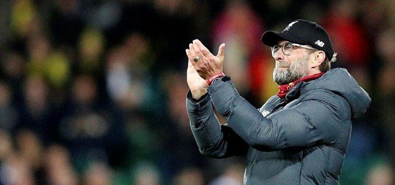 LIVERPOOLS KLOPP SYMPATHETIC TOWARDS MAN CITY TWO-YEAR UEFA BAN