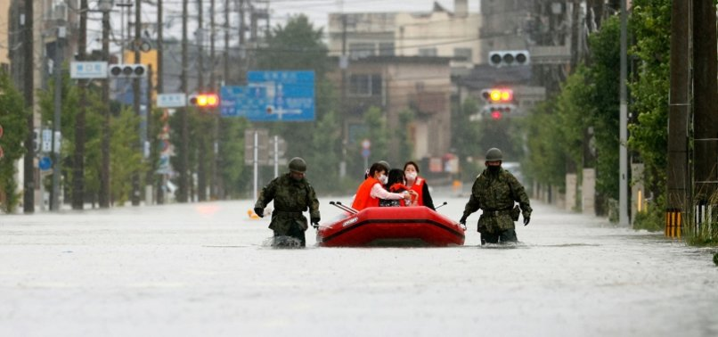 DEATH TOLL FROM FLOODING IN JAPAN RISES TO 50, DOZEN MISSING