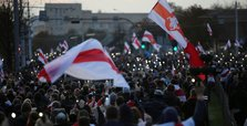 Belarus authorities check reports of gunfire at protests, police use stun grenades -agencies