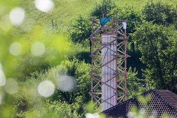 Bosnalı minare ustası 15 yılda 170 sanat eseri inşa etti