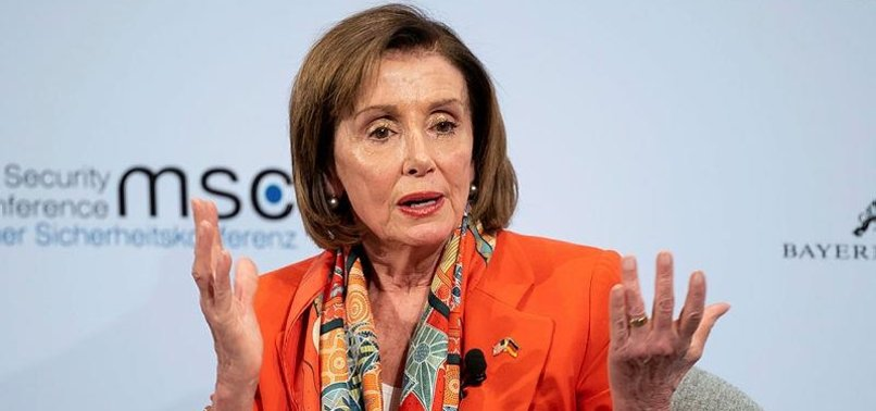 US PELOSI SPEAKS LIKE TRUMP IN EUROPE, SLAMS HUAWEI