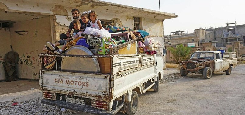 AROUND 124,000 SYRIANS DISPLACED DURING EID AL-ADHA