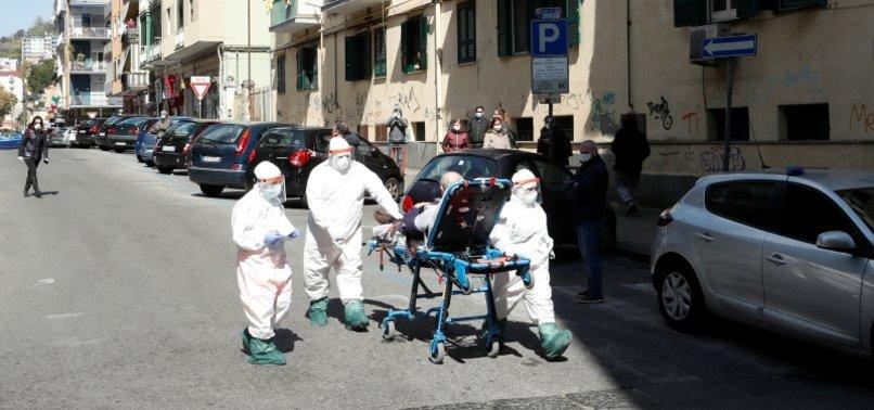 ITALYS CORONAVIRUS DEATHS PUSH HIGHER, NEW CASES HOLD STEADY