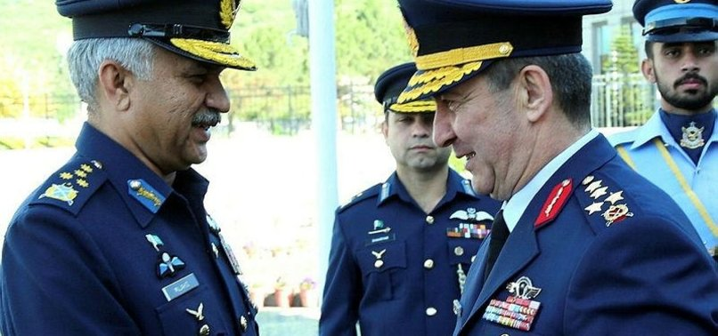 TURKEY'S AIR CHIEF HAILS PAKISTAN'S EFFORTS FOR PEACE
