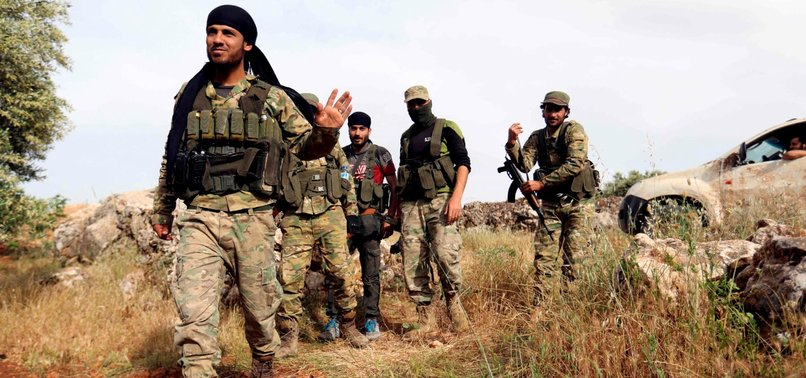 SYRIAN REBELS RECAPTURE A VILLAGE IN HAMA FROM PRO-ASSAD FORCES