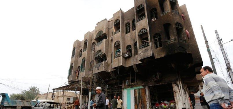 2 BLASTS JOLT DISTRICT IN IRAQI CAPITAL