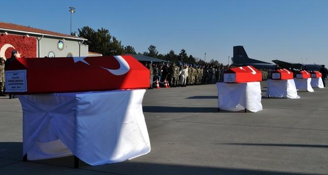 Turkey bids farewell to soldiers killed in PKK terrorist attack
