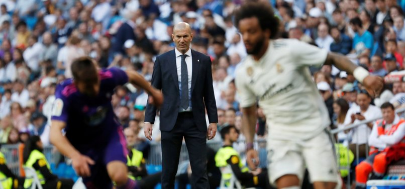 REAL MADRID BEATS CELTA VIGO 2-0 ON ZIDANES RETURN