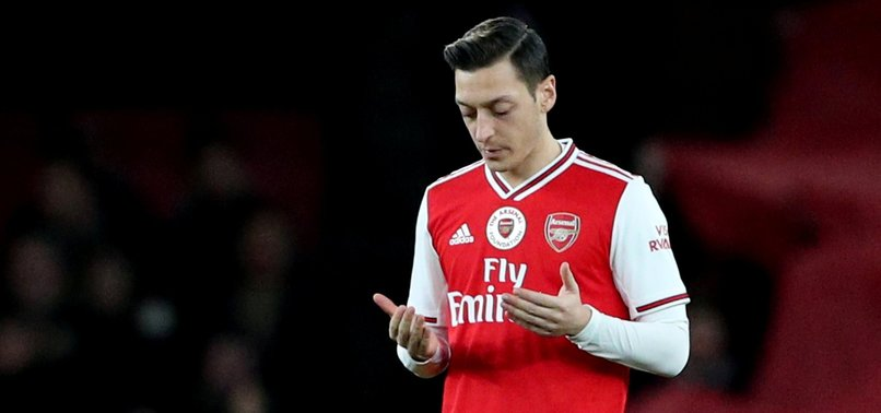 OZIL BLASTS ARSENAL FAILURE TO BACK HIS UIGHUR MUSLIM COMMENTS