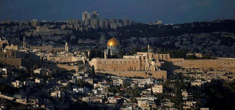 PALESTINE CONDEMNS MOLDOVA MOVE ON JERUSALEM