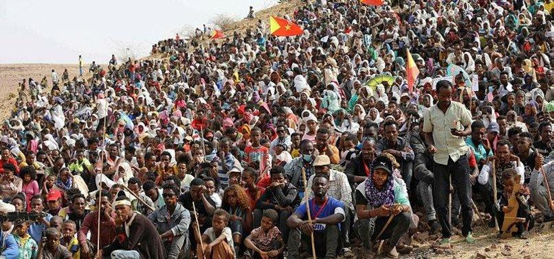 UN: THOUSANDS FLEE ETHIOPIA VIOLENCE, SEEK ASYLUM IN SUDAN