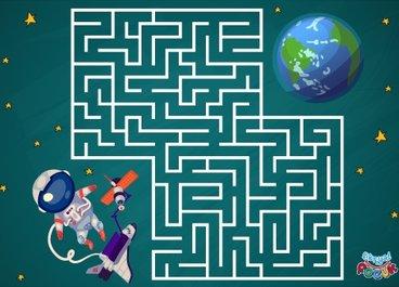 Astronotu Dünya'ya Ulaştır! 👩🏻🚀🌎👨🏻🚀