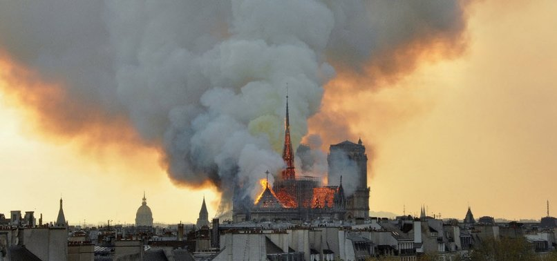 TRUMPS NOTRE-DAME ADVICE RISIBLE, SAYS FRENCH FIRE CHIEF