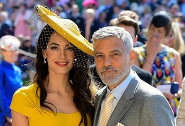 Clooney'lerden Beyrut için bağış