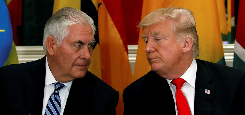 DONALD TRUMP OUSTS SECRETARY OF STATE TILLERSON, TAPS CIA DIRECTOR POMPEO