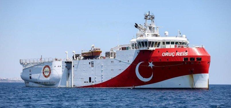 TURKEY EXTENDS ORUÇ REIS MISSION FOR GAS EXPLORATION IN EASTERN MEDITERRANEAN