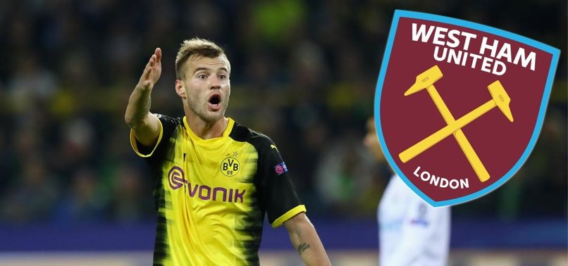 WEST HAM SIGN YARMOLENKO ON FOUR-YEAR DEAL