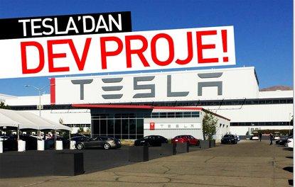 Tesladan dev proje!