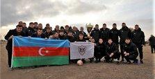 Azerbaijan football team visits liberated Aghdam