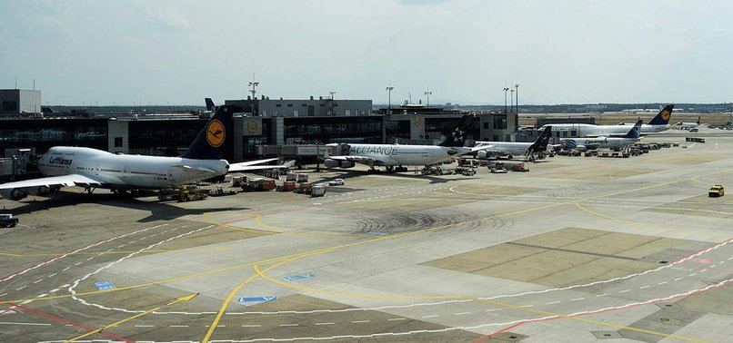 FRANKFURT AIRPORT SUSPENDS OPERATIONS DUE TO ONCOMING STORM