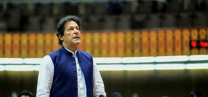 PAKISTANS PM IMRAN KHAN SAYS NO DOUBT THAT INDIA WAS BEHIND STOCK EXCHANGE ATTACK