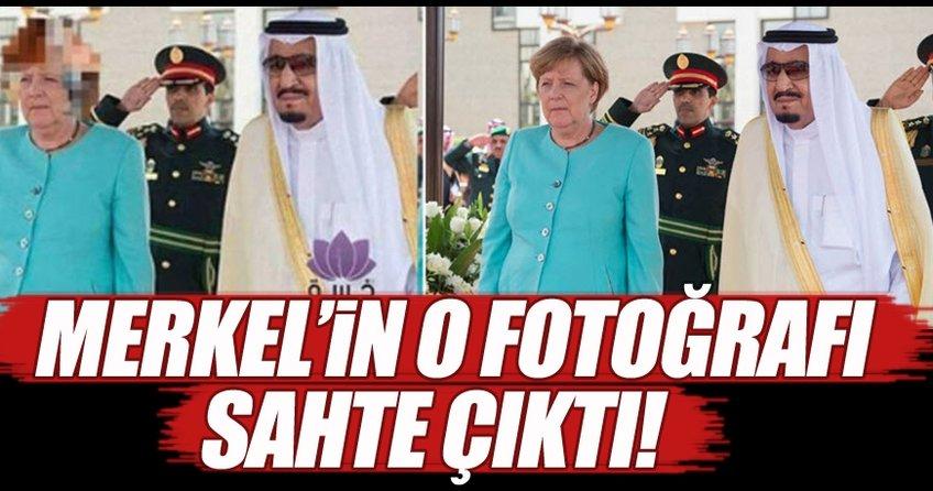 Merkel'in o fotoğrafının sahte olduğu ortaya çıktı!
