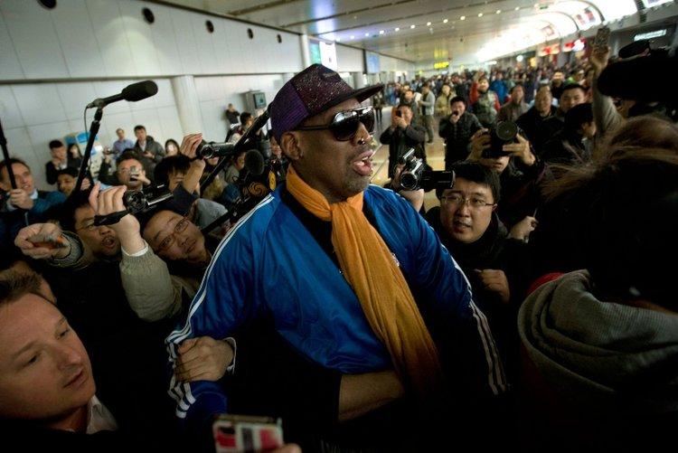 En çılgın basketbolcu: Dennis Rodman
