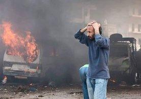 Halep çıkışında Şii milisler bin kişiyi durdurdu!