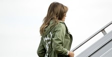 'I really don't care:' Melania Trump's jacket baffles