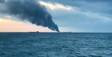 14 dead after cargo ships catch fire in Kerch Strait