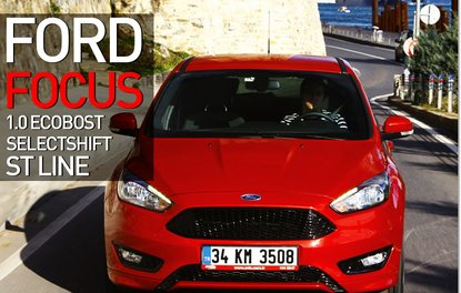 TEST · Ford Focus 1.0 EcoBoost SelectShift ST Line