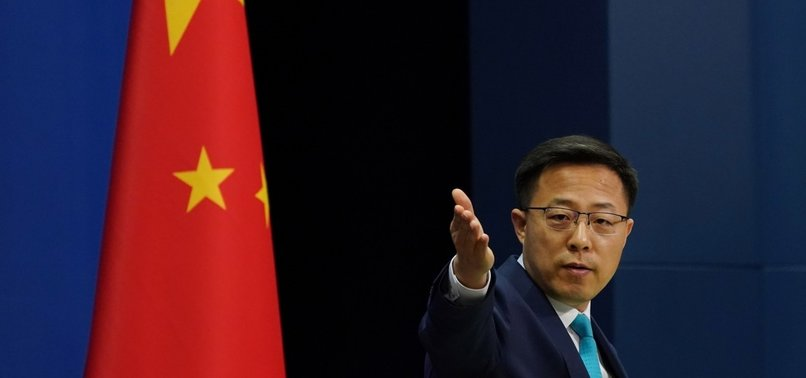 CHINA SAYS IT WILL RETALIATE AGAINST U.S. ACTIONS ON HONG KONG