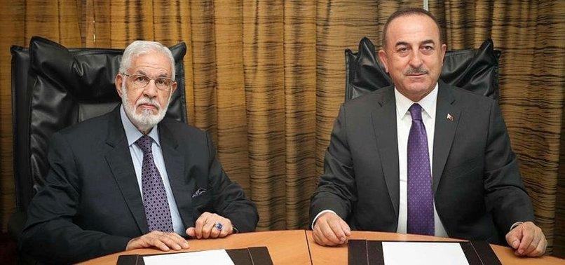 TURKEY BACKS PEACEFUL SETTLEMENT OF LIBYA CRISIS