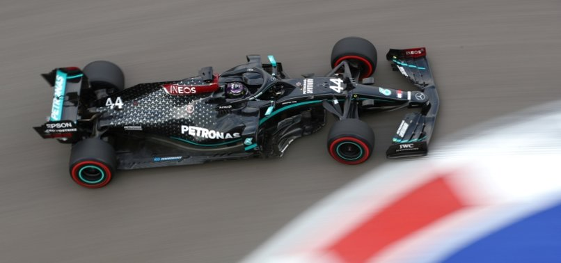 HAMILTON ON POLE IN RUSSIA WITH SCHUMACHERS RECORD IN SIGHT