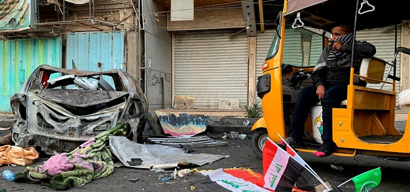 4 KILLED IN BOMB ATTACK IN IRAQ'S TAHRIR SQUARE