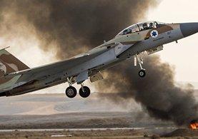 İsrail Suriye'ye savaş uçaklarıyla saldırı düzenledi