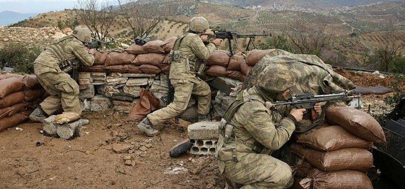TURKISH SOLDIERS, FSA STAY ON ALERT AT MT. BURSAYA