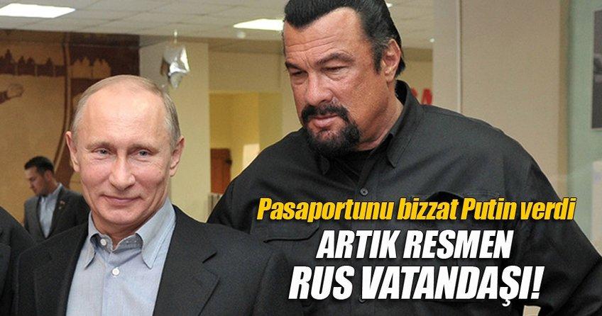 Artık resmen Rus vatandaşı