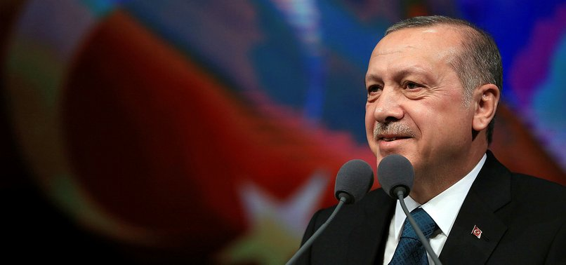 ERDOĞAN SAYS EXCHANGE RATE FLUCTUATIONS ARE ATTEMPTS TO CORNER TURKEY