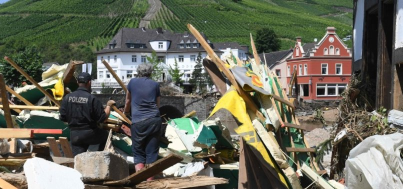 FLOOD-BATTERED GERMANY APPROVES MAJOR RELIEF PACKAGE