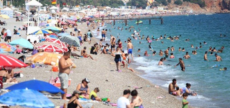 TURKEYS ANTALYA HOSTS NEARLY 80,000 TOURISTS IN 2 WEEKS