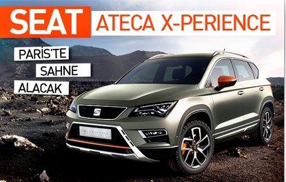 Seat Ateca X-Perience Paris'te sahne alacak