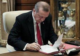 Recep Tayyip Erdoğan'dan kanun onayı!
