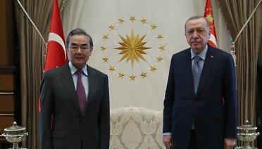 Çin Dışişleri Bakanı Wang Yi Ankara'da