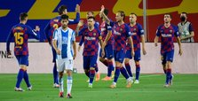 Barcelona win derby against Espanyol, relegates city rival