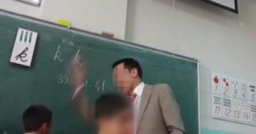 Dayakçı öğretmen sorgudan sonra serbest bırakıldı
