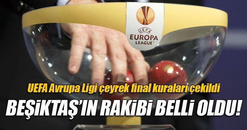 Avrupa Ligi kuraları çekildi! İşte Beşiktaş'ın rakibi...
