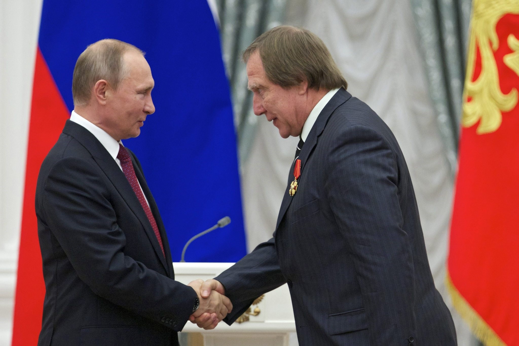 Sergei Roldugin, a childhood friend of Putin's.