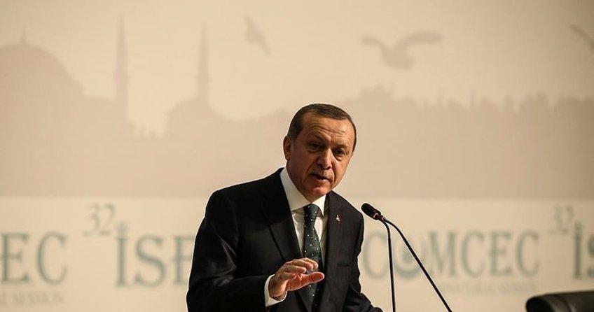 Cumhurbaşkanı Erdoğan'dan Suriyeli mazlumlara ve dünya müslümanlarına ayetli mesaj
