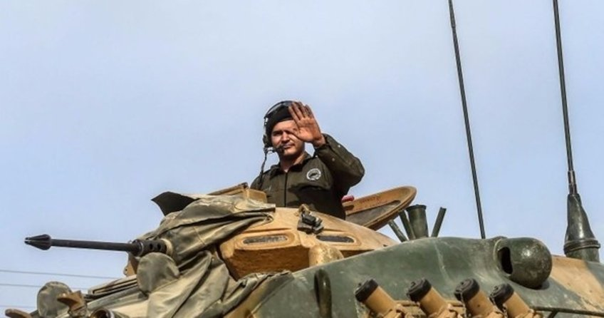 Suriye'ye tank sevkiyatı devam ediyor